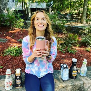 TIME FOR A COZY FALL🍁 GIVEAWAY! It's the time of year when warm drinks become a necessity. And 🍀 for you I have you covered with 5 fabulous products from @califiafarms and a lovely 20-oz Rambler travel mug from @yeti to keep them warm in.  One winner will receive: ☕️ Mushroom 🍄 Coffee from Califia ☕️ Blond Roast Cold Brew black coffee from Califia 🥛 Barista Oat Blend from Califia 🥛 Maple 🍁 Caramel Almond Milk Creamer from Califia 🥛 Unsweetened Oat Milk Creamer from Califia Blend up your favorite non-dairy ☕️ drink and keep it hot or cold in @yeti's awesome travel mug, featured in their gorgeous new Sandstone Pink 💖 color. In honor of Breast Cancer Awareness Month, Yeti is donating up to $50,000 each to Boarding for Breast Cancer and Casting for Recovery through Sandstone Drinkware.  To enter:  1. Like this post 😁 2. Follow me and both brands tagged 3. Tag 2 friends who love warm drinks 4. Let me know what drink you would put in your new Yeti 😁 This giveaway runs through Thursday, October 21st, and the winner will be announced here on the 22nd. 🇺🇸 US entries only for shipping purposes please. Good luck! 🍀 #giveaway  #fallgiveaway  #plantmilk  #mushroomcoffee  #oatmilk  #almondmilk  #getcozy  #warmdrinks  #coffeelover  #yetitumbler