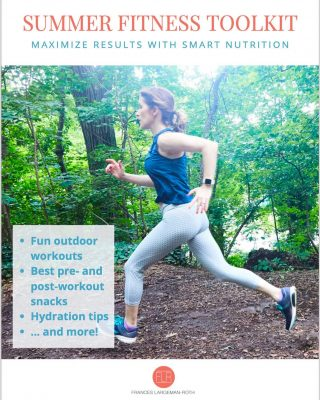 ☀️ 🏃♀️ SUMMER FITNESS TOOLKIT 🚴 ☀️ You may be asking yourself if summer fitness is any different from exercise at any other time of year 🤷♀️ The answer is YES! Here's why: 💦 Hydration needs are more intense 🌳 It's easier to take your fitness outside 🍉 We can and should eat in-season fruits and veggies as part of our refueling plan My updated and FREE Summer Fitness Guide is packed with everything you need: ✔️ Expert workouts 🏃🏿♂️  ✔️Hydration tips  ✔️Pre and post-workout snacks (including smoothie recipes😋) to help you refuel for maximum results 💪🏽  Did I mention that this handy resource is FREE? Grab the link to download it today in my bio 👆 And don't forget to enter my fitness GIVEAWAY! Check out the post from earlier this week. And please DM me if you have specific questions on how to fuel for fitness this summer! I'm here to help😁 #summerfitness  #preworkoutsnack  #postworkoutsnack  #outdoorworkouts  #proteincarbsfats  #hydrationtips  #electrolytes  #gottahydrate  #healthysmoothies  #summerworkouts  #sweatyselfies  #feedyourmuscles  #freebook  #nutritionistapproved  #nutritionexpert